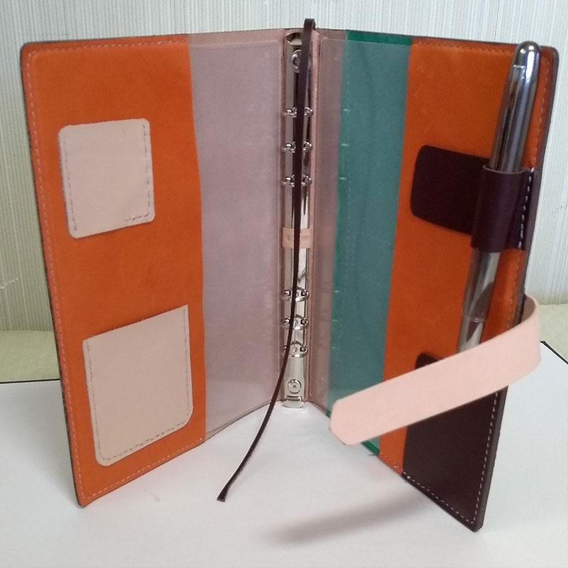A5サイズシステム手帳カバー