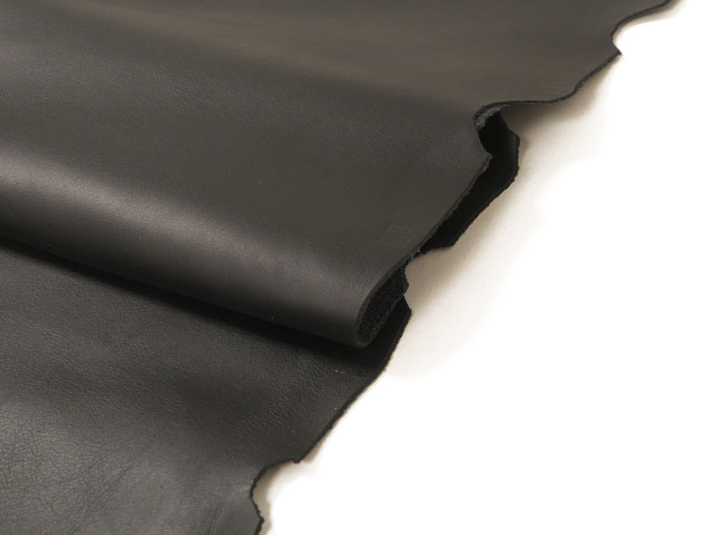 染色ホースレザー(ブラック)半裁