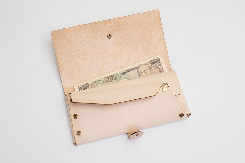 縫わない長財布『彩雲』