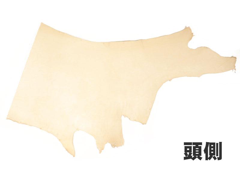 ヌメ革タンロー半裁ハーフB(厚口)