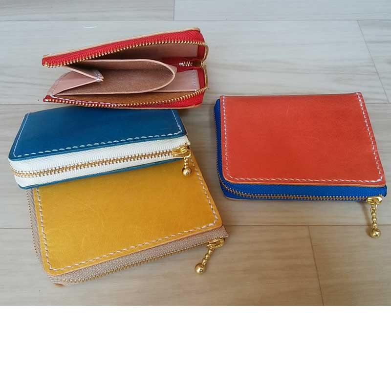 Lファスナーミニ財布