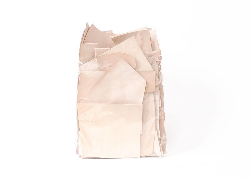 ヌメ革タンロー端切れパック 2kg