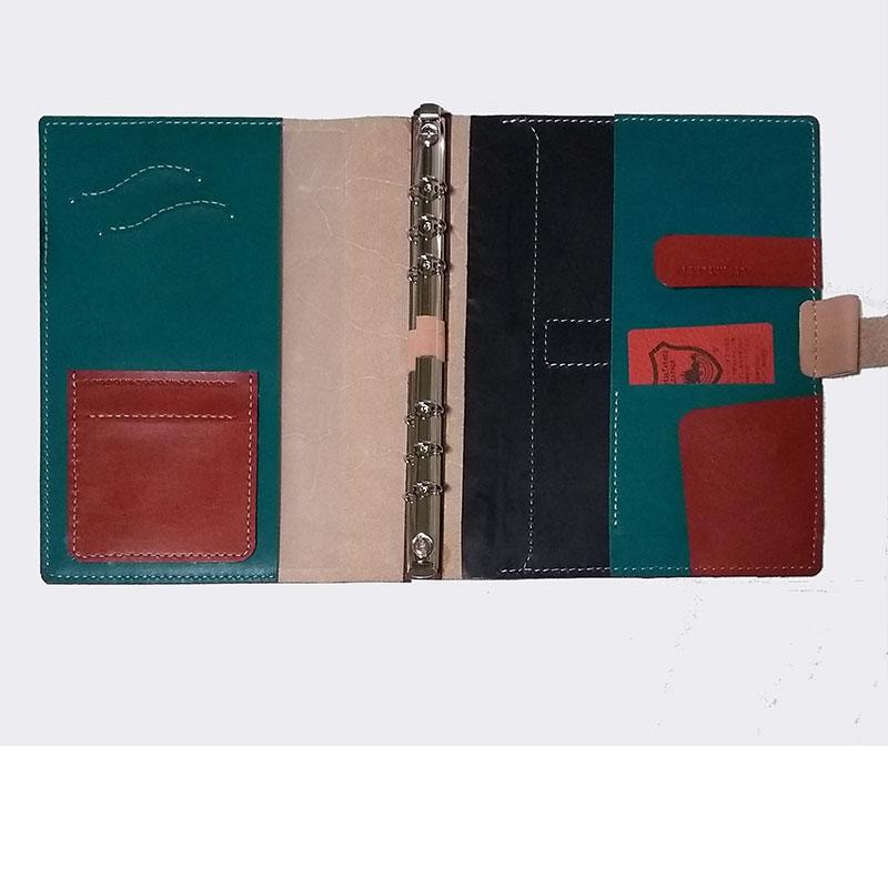 A5サイズ6穴リングシステム手帳カバー