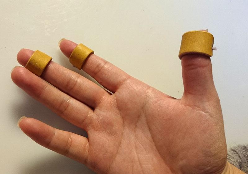 裁縫用指サック