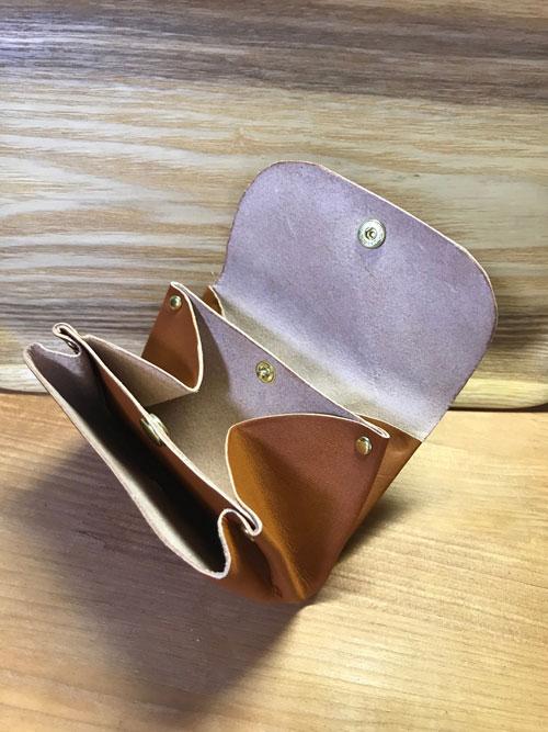 カシメミニ財布