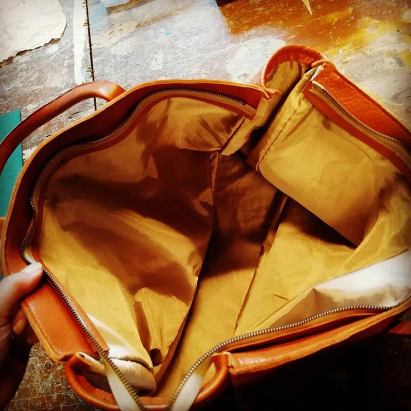 旅行用大きめトートバッグ