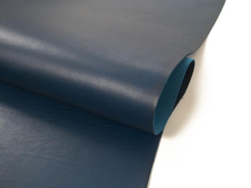 【メルマガ限定】オイルヌメ(ブルー)200×300mm:0.6~0.8mm厚