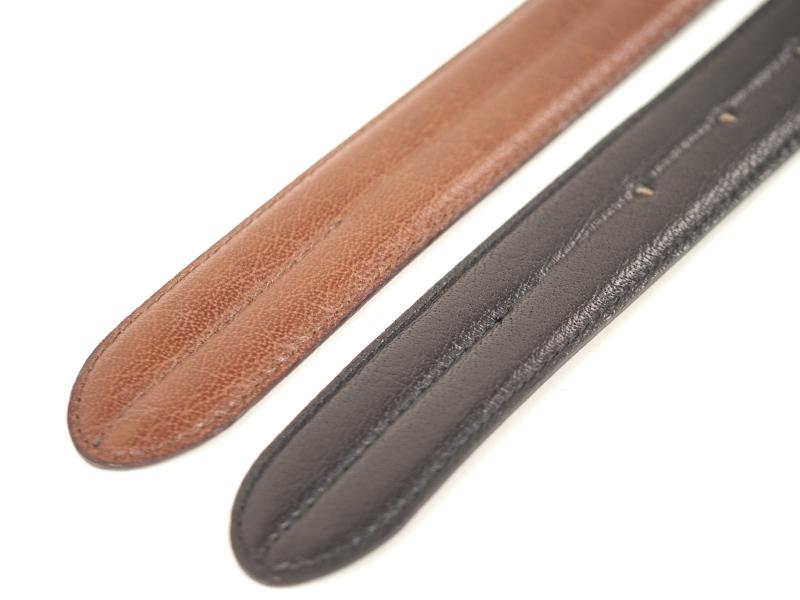 本革ベルト #09 (3.5~4.0mm厚)幅:29mm、長さ:約1040mm