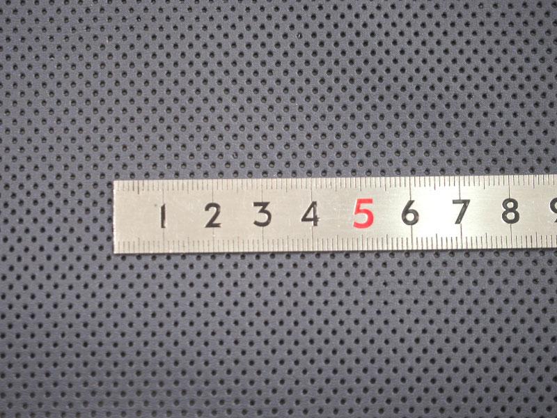 特価 パンチングレザー半裁(ネイビー) #269