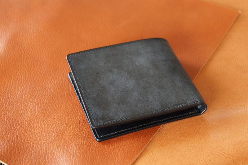 二宮五郎商店 コードバン 総コードバン2つ折り財布 【送料無料】