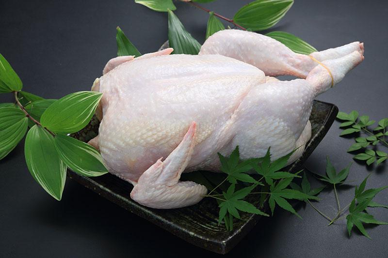 霧島鶏 丸鶏(中抜き・1羽)