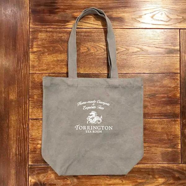 【 TORRINGTON 】オリジナル トートバッグ(グレー・ワインレッド)☆5,500円以上購入で送料無料!☆