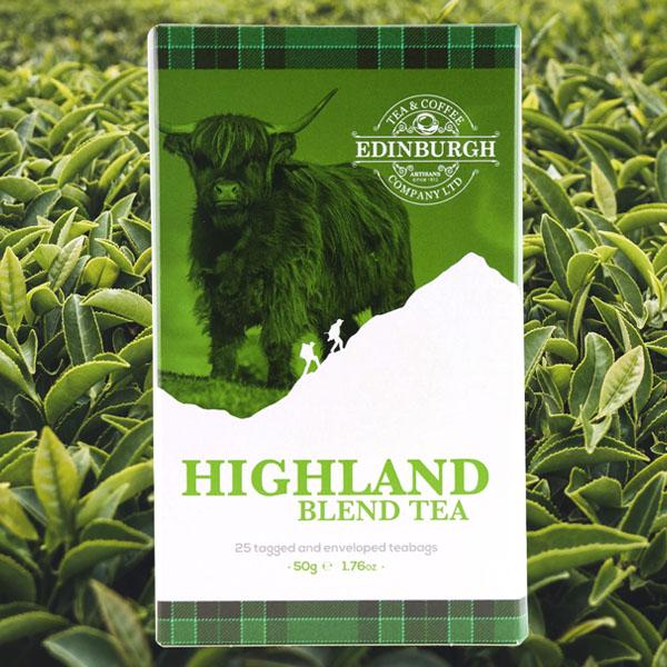 【EDINBURGH TEA & COFFEE】ハイランドブレンド/ティーバッグ〈正規輸入品〉☆7,700円以上購入で送料無料!☆