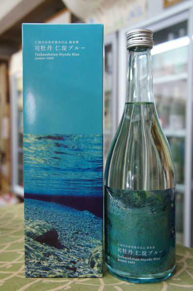 司牡丹 仁淀ブルー 純米酒 720ml
