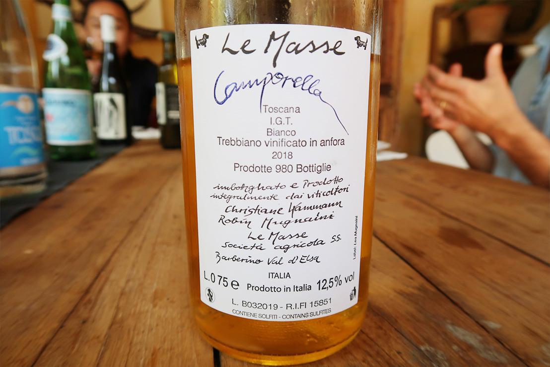 Toscana Bianco Camporella 2018 Le Masse (トスカーナ ビアンコ カンポレッラ)