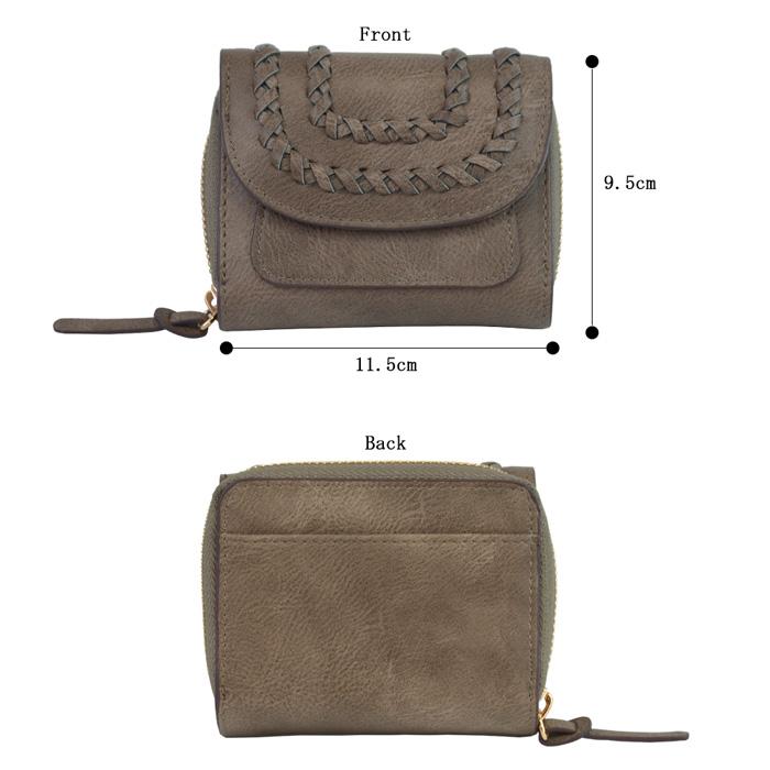 Lorenz ロレンツ かがり三つ折り財布