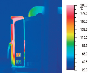 FF式 輻射・自然対流式ストーブ RS-mini