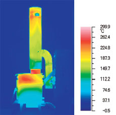 FE式 輻射・自然対流式ストーブ DK-15