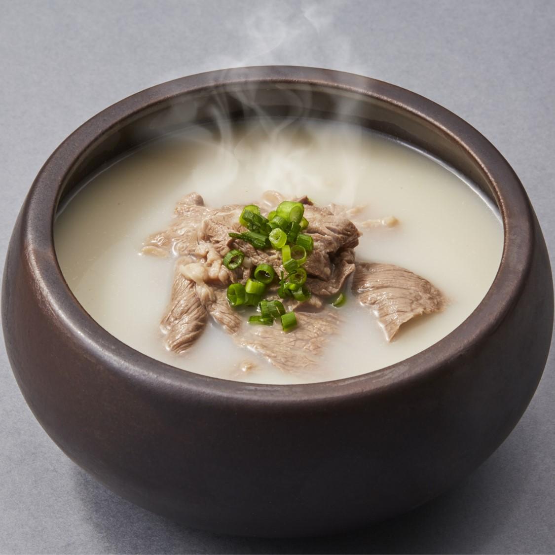 【冷凍】<韓美膳(ハンビジェ)>コムタンスープ(単品)