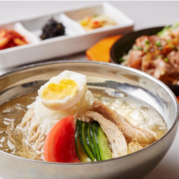 韓美膳 冷麺 1食入×4PC