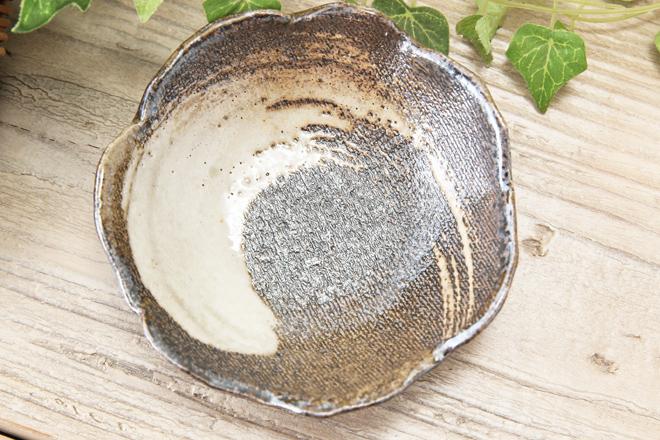 【益子焼】たたら作りの変形小鉢【サイズ小】【単品1枚】