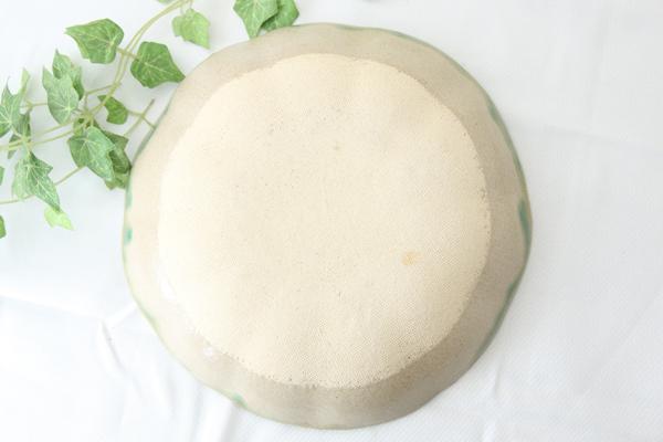 【益子焼】釉シリーズ 縁ひらひら深さのあるパスタ皿(直径約21cm〉【単品1枚】