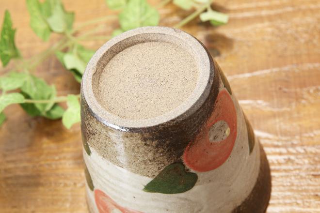 【益子焼】椿のロックカップ【単品1個】