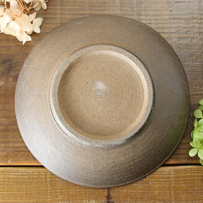 【益子焼】ろくろ作りのさくら変形深さのある盛り皿【単品1枚】