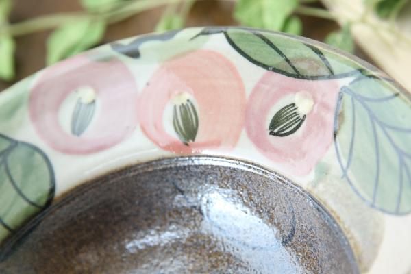 【益子焼】お料理を豪快に盛る ろくろ作りの豪快に開いた盛り鉢【サイズ中・単品1枚】