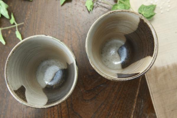 【益子焼】フリーカップ サイズ中 【優しい風合いのつばきシリーズ・単品1個】