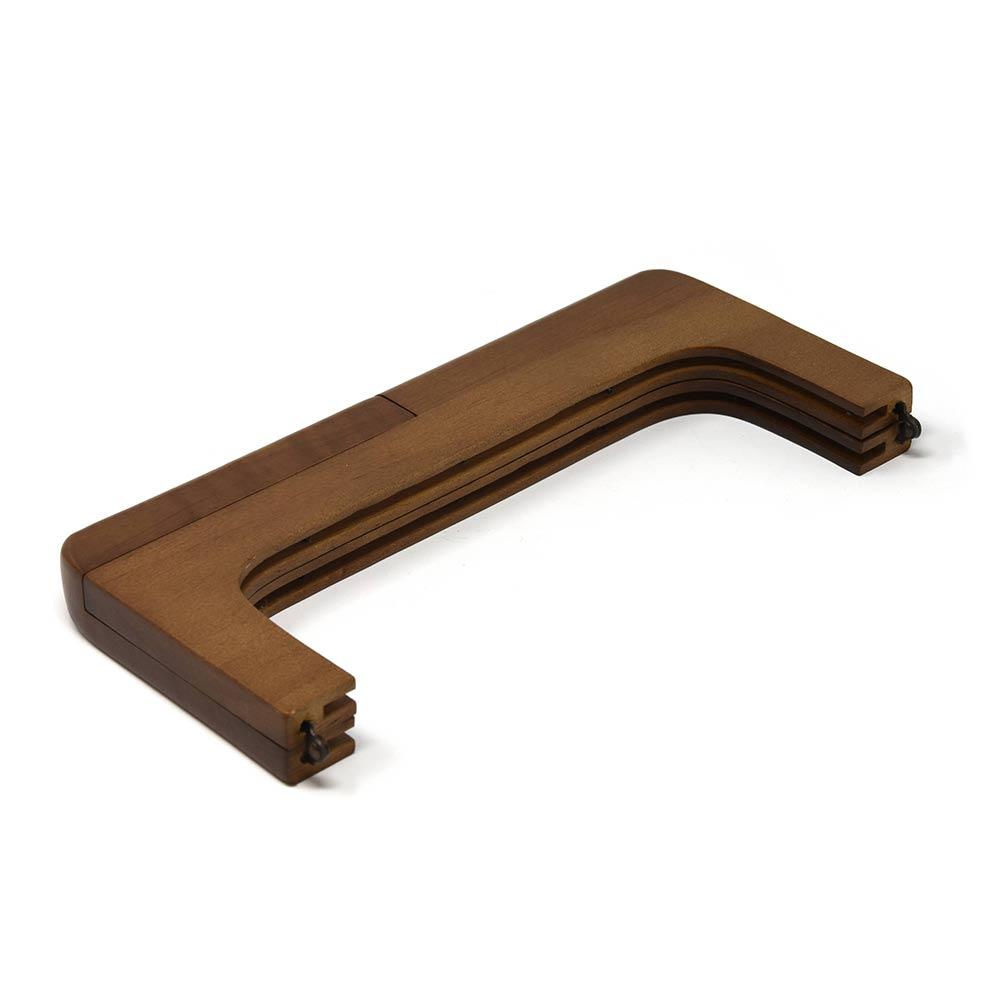 F460 / 25cm 木製フレーム口金〈1本〉