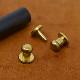 A103 / 打ち込みギボシ 小 / 真鍮無垢 〈小口・大口〉