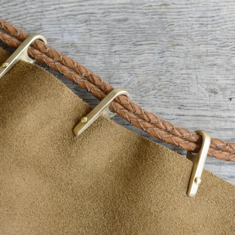 【SALE品】巾着コキ 金属製 1本釘 / 限定真鍮色 〈小口・大口〉