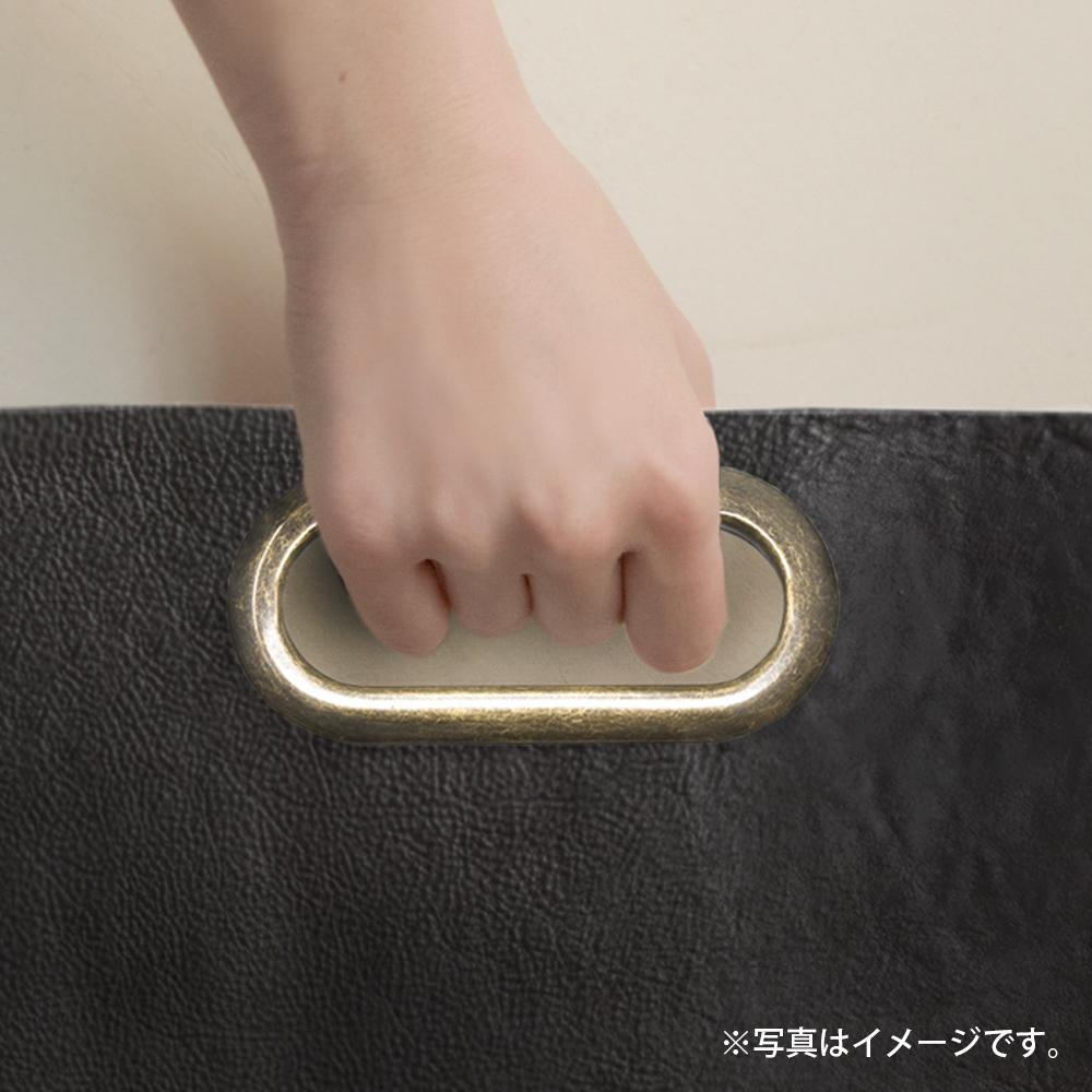 D40 / 小判飾り 持ち手金具 大 / AT 〈1組(2個)〉