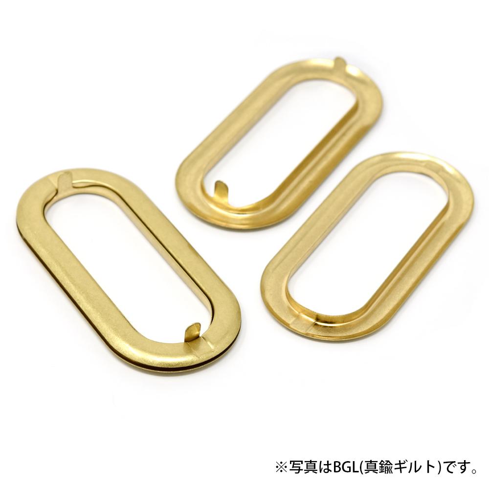 D40 / 小判飾り 持ち手金具 大 / BGL 〈1組(2個)〉