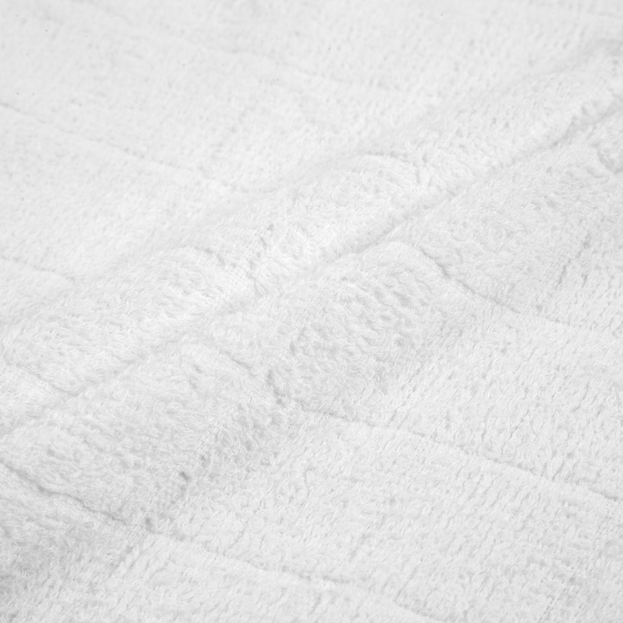 70匁 おしぼりタオル白 8×8格子