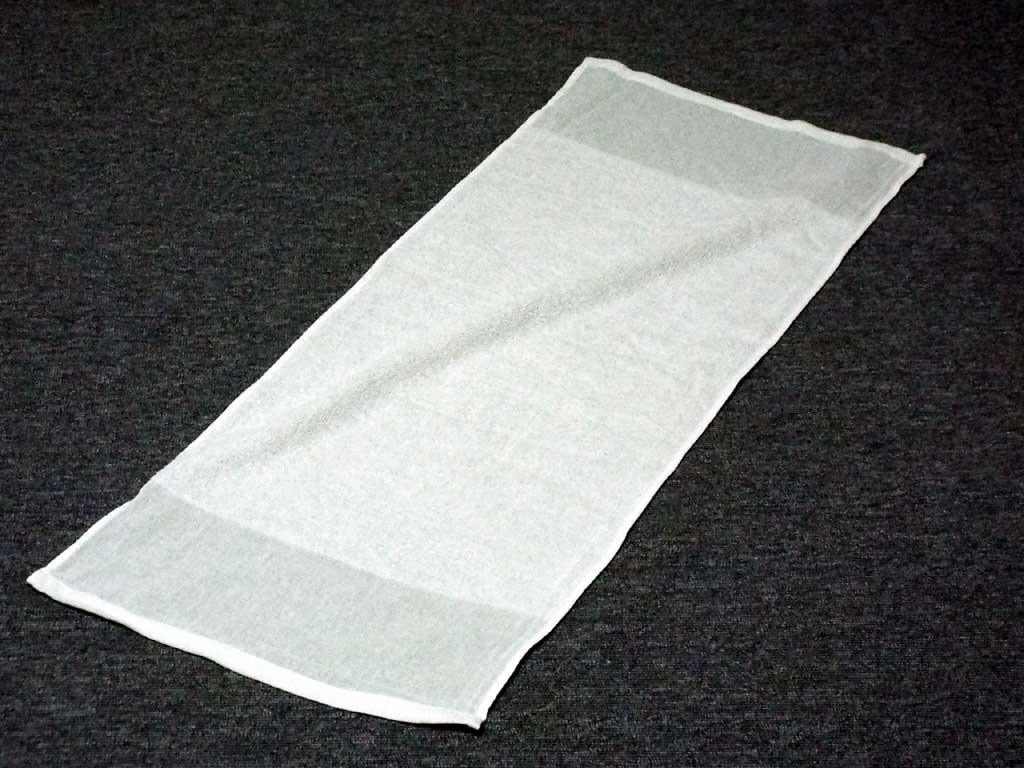 120匁 透明袋入 入浴用タオルセット