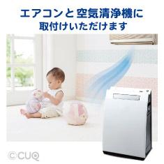 ウイルス対策ホコリとりフィルター エアコン・空気清浄機用3個セット