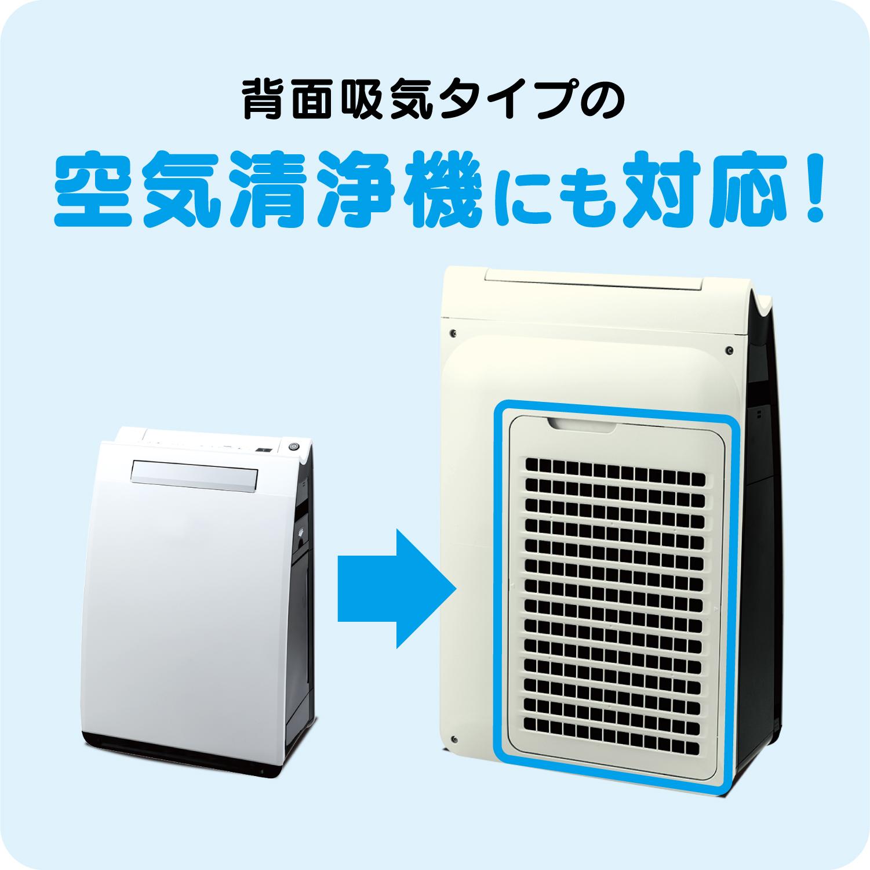 (ケース販売)ウイルス対策ホコリとりフィルター エアコン・空気清浄機用100個セット
