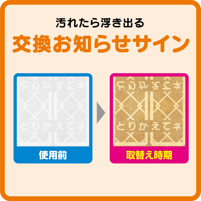 整流板付専用 パッと貼るだけフィルター(3個セット)