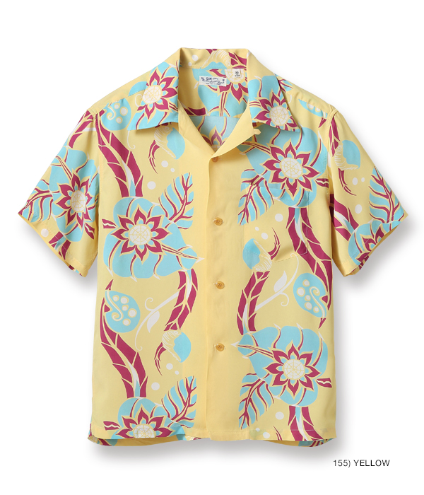 "2021年4月30日入荷 / Lot No. SS38571 / RAYON HAWAIIAN SHIRT ""EXOTIC BLOOMS"""