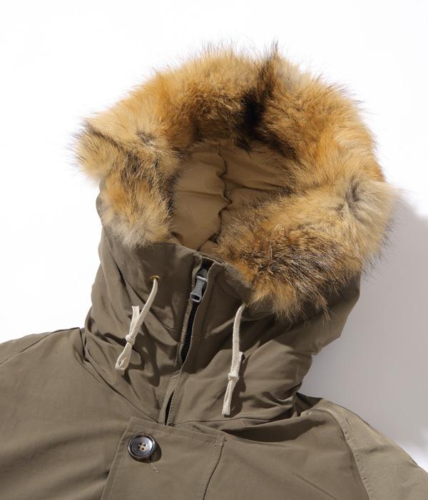 """2021年10月21日入荷 / Lot No. AS15004 / ALASKA SLEEPING BAG GOOSE DOWN, MADE IN USA """"ARCTIC"""" WORK & HUNTING COAT"""