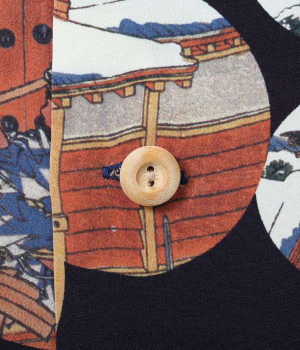 "Lot No. SS37918 / SUN SURF × 葛飾北斎 SPECIAL EDITION ""忠臣蔵討入"""
