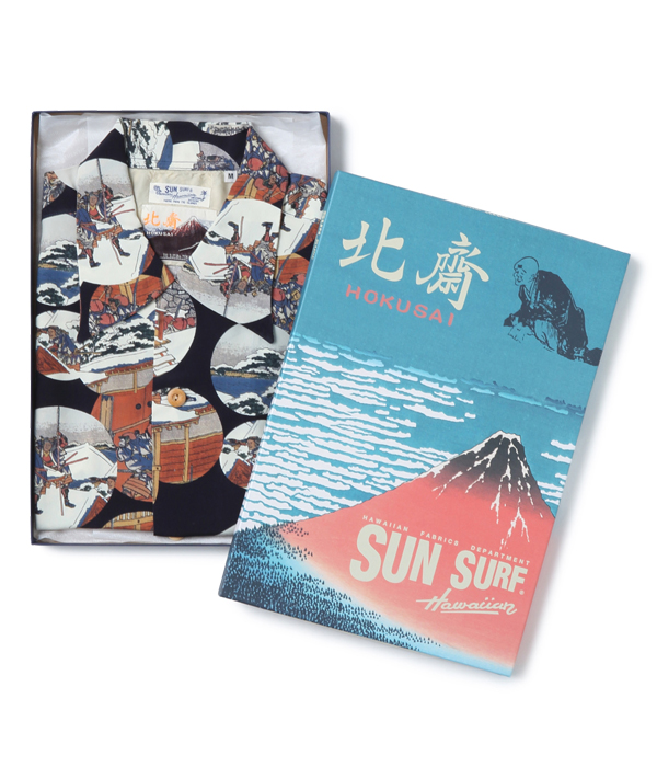 "Lot No. SS37918 / SUN SURF × 葛飾北斎 SPECIAL EDITION ""忠臣蔵討入"""