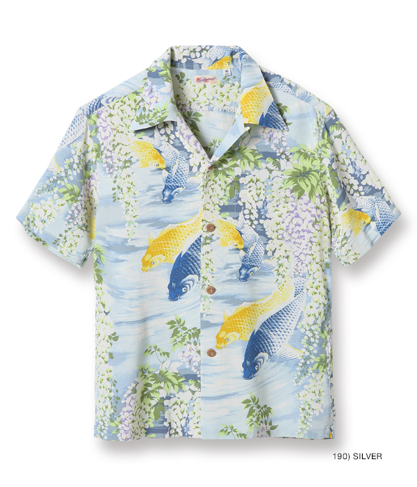 "Lot No. SS38321 / RAYON HAWAIIAN SHIRT ""CARP"""