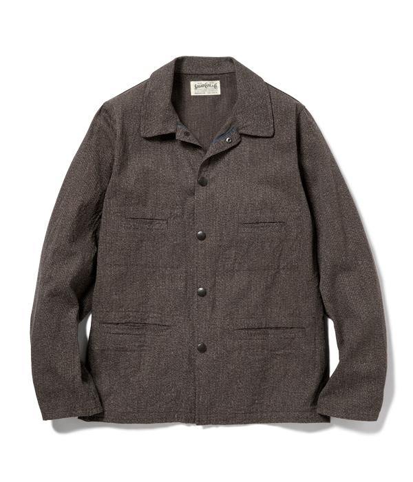 Lot No. SC14777 / FICTION ROMANCE 6.5oz. COTTON BEACH CLOTH WORK JACKET
