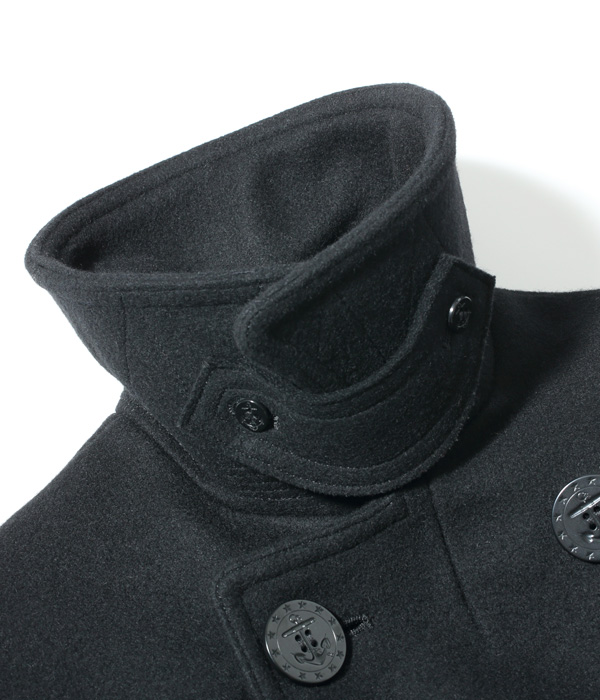 Lot No. BR12394 / WILLIAM GIBSON COLLECTION Type BLACK PEA COAT