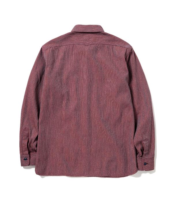 Lot No. SC28283 / FICTION ROMANCE 6.5oz. COTTON BEACH CLOTH WORK SHIRT