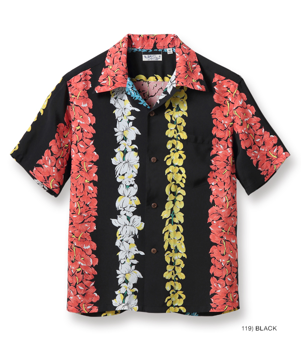 "2021年4月28日入荷 / Lot No. SS38579 / RAYON HAWAIIAN SHIRT ""FLORAL CHAIN"""
