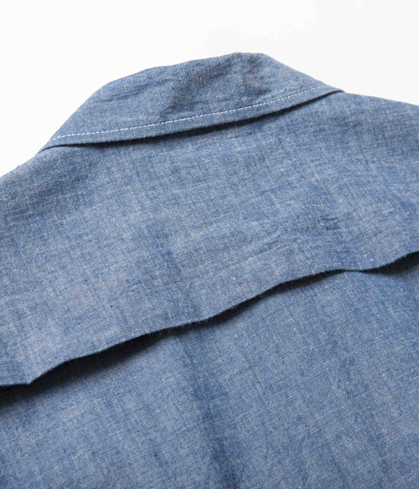 Lot No. SC14357 / 5oz. CHAMBRAY COTTON SPORTS  JACKET